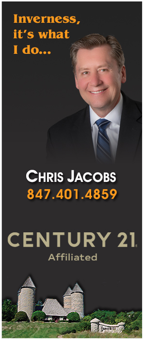 Your Inverness Real Estate Expert, Chris Jacobs, The Pinnacle Group, 847-401-4859, CENTRUY 21 Roberts & Andrews