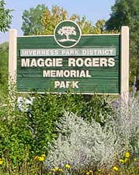 Maggie Rogers Park sign